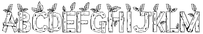 Stardew Valley All Caps Font UPPERCASE