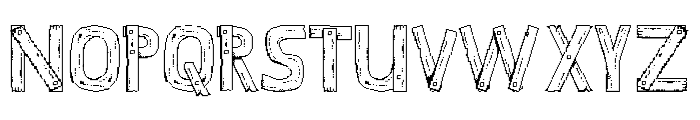 Stardew Valley Regular Font UPPERCASE