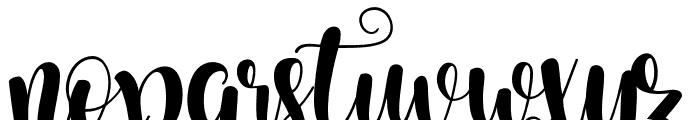 Starfish Font LOWERCASE