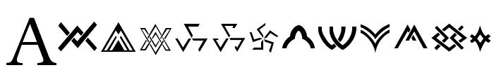 Stargate Font LOWERCASE
