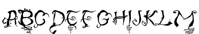 Stargaze Font UPPERCASE