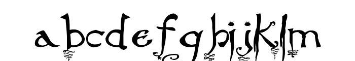 Stargaze Font LOWERCASE