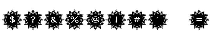 Stargit Font OTHER CHARS