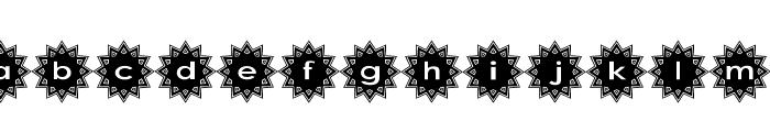 Stargit Font LOWERCASE