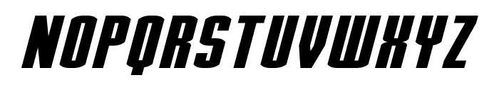 Stark Italic Font UPPERCASE