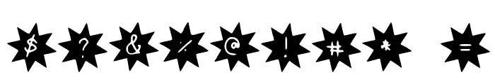 Starlight Font OTHER CHARS