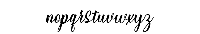 StarliveScript Font LOWERCASE