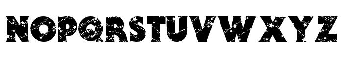 Stars Font UPPERCASE