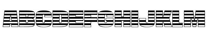 StarsAndStripes-Plain Regular Font LOWERCASE