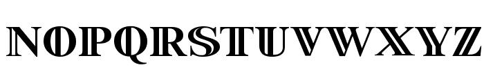 StarsStripesBullets Font LOWERCASE