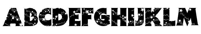 Stars Font LOWERCASE