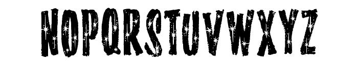 StarshineMF Font UPPERCASE