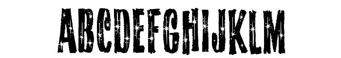 StarshineMF Font LOWERCASE