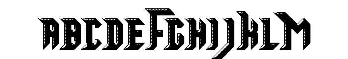 Starsteel Font UPPERCASE