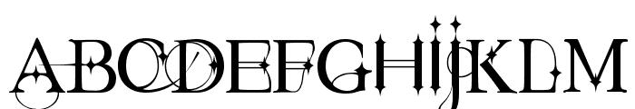 Starstruck Font UPPERCASE