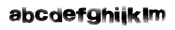 StartMenu Font LOWERCASE