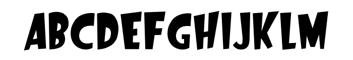 Startling Font UPPERCASE