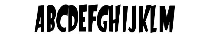 StartlingFont Font UPPERCASE