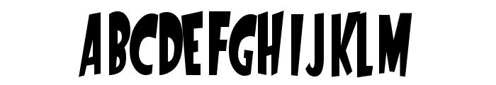 StartlingFont Font LOWERCASE