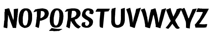 State Bridge Font UPPERCASE