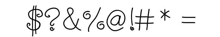 StateOfWhimsy Font OTHER CHARS