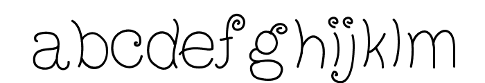 StateOfWhimsy Font LOWERCASE