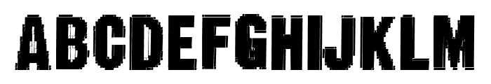 Static Age Fine Tuning Font UPPERCASE