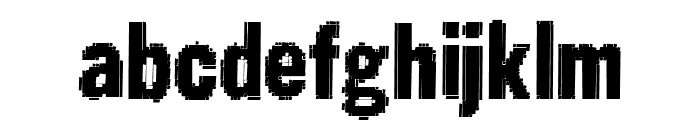 Static Age Fine Tuning Font LOWERCASE
