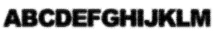 Static Buzz Font UPPERCASE