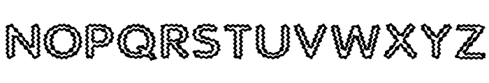 Static Charge Font UPPERCASE
