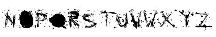 Static Cling Static Font UPPERCASE