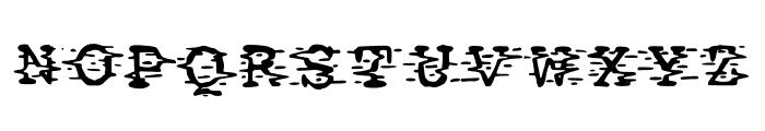 Static Font UPPERCASE