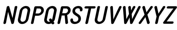 StaticBoldItalic Font UPPERCASE