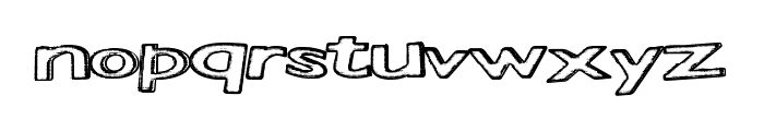 StaticHeights Font LOWERCASE