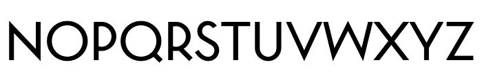 Station Font UPPERCASE