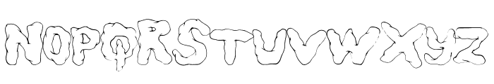 StatusUpdate Font LOWERCASE