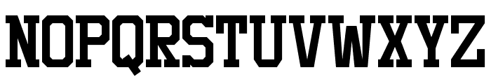 Staubach Font UPPERCASE
