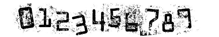 Staubiges Vergngen Font OTHER CHARS