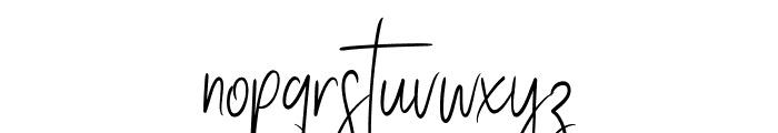 Stay Classy SLDT Font LOWERCASE