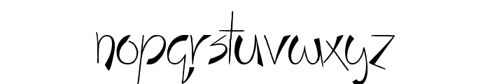 Stay Holy Okay Font LOWERCASE