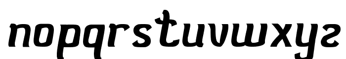 Stay true Font LOWERCASE