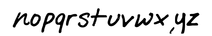StayStayStay Font LOWERCASE