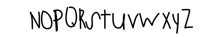 StayStrong Font LOWERCASE