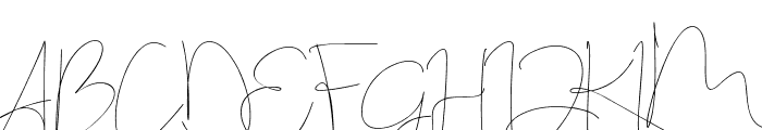 Stealletto Font UPPERCASE