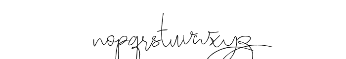 Stealletto Font LOWERCASE