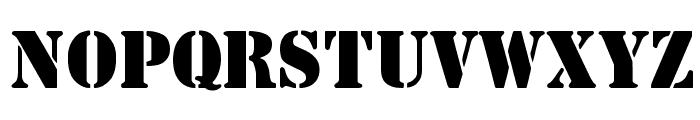 Steamer Regular Font UPPERCASE