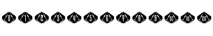 Steampips d10 Font UPPERCASE