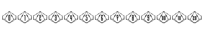 Steampips d10 Font LOWERCASE