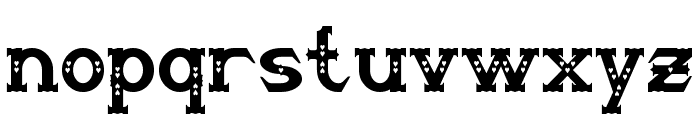 Steampuff Font LOWERCASE