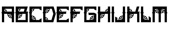 Steamwheel Font UPPERCASE